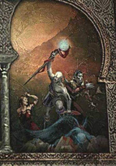 Moebius and Mortanius revolting against the vampires