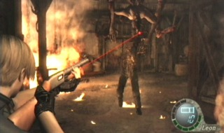 Leon taking aim at Mendez.