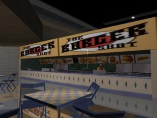 Burger Shot's first appearance.