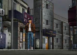 Shenmue (1999), the first fully 3D urban open-world game.