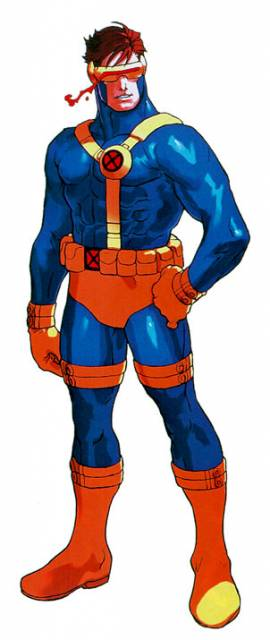 Cyclops, a key character in the X-Men series