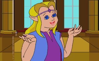 Zelda, the game's protagonist.