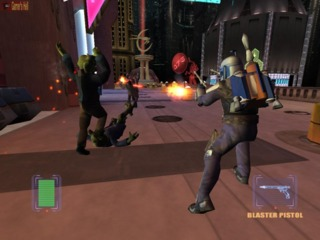 The game featured various environments including city themed areas.