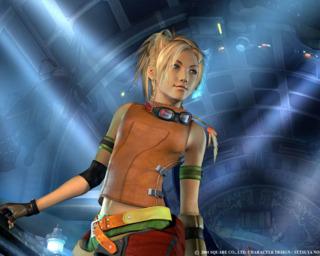 Rikku in Final Fantasy X