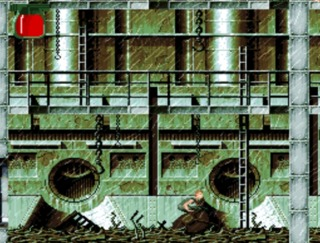 The SNES version had varied missions to complete.