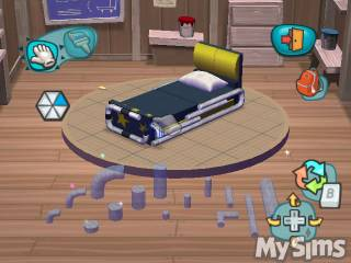 Build and customize the bed to the player's liking