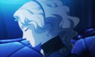 Margaret in a Persona 4 cutscene.