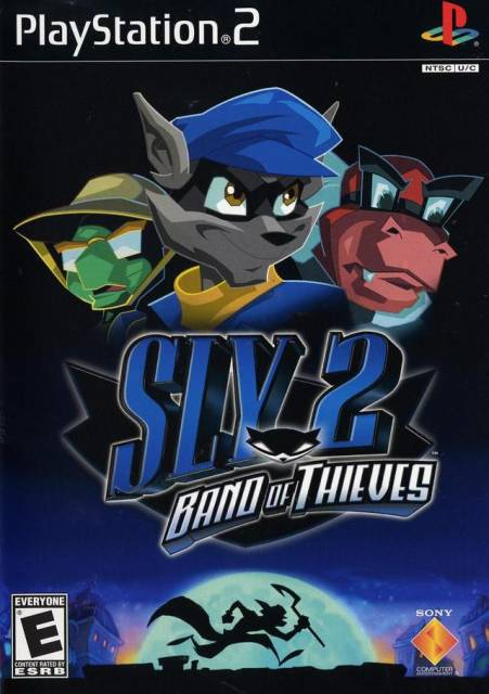 Box art for Sly 2: Band of Thieves