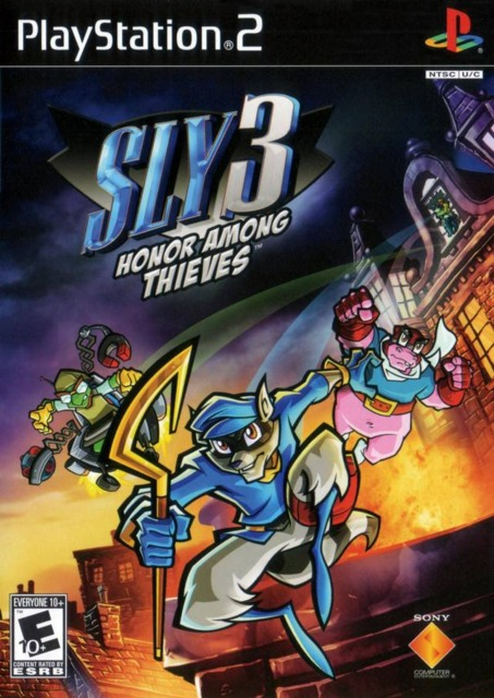 Box art for Sly 3: Honor Among Thieves