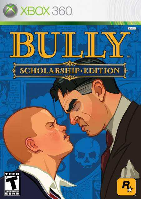 Boxart for the Xbox 360 version of Bully: Scolarship.