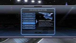 A selection of weapons become available as the player ranks up in the game.