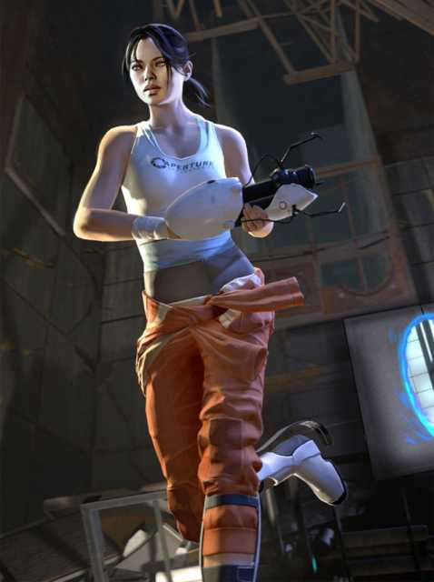 Chell returns as the game's protagonist.