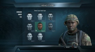 The Character Creator.
