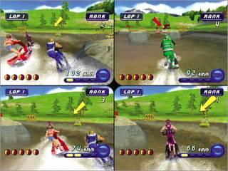 4 player split screen action
