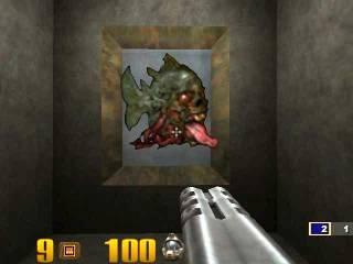 Dopefish in Quake III