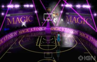 Magic Johnson boss battle