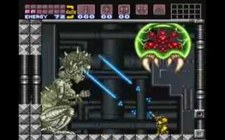 Stand-up glitch, Samus attacking Mother Brain during scripted event