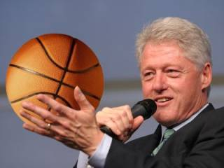 Former U.S. President Bill Clinton, one of the hidden players
