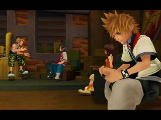 Don't get too attached to Roxas here; the game is still Sora's show.