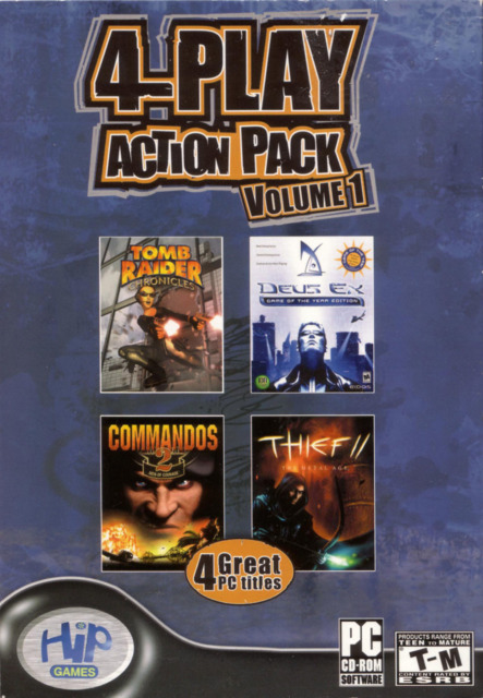 4-Play Action Pack (Volume 1)