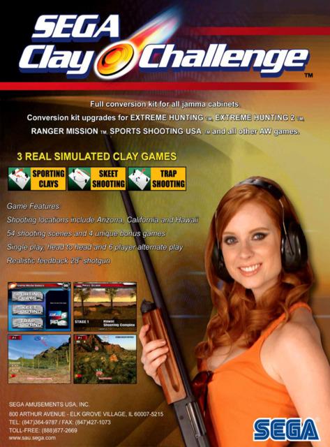 Sega Clay Challenge
