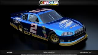 The Blue Deuce in NASCAR The Game: 2011