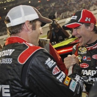 Gustafson and Gordon ecstatic about making the Chase