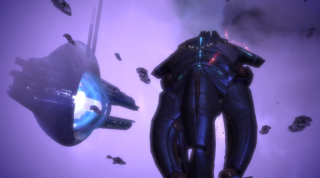 The Reapers attack the Citadel