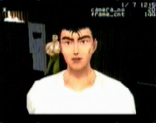 Ryo without jacket (from the planned Saturn version)