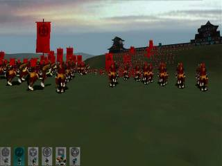 A view of the real-time battlefield