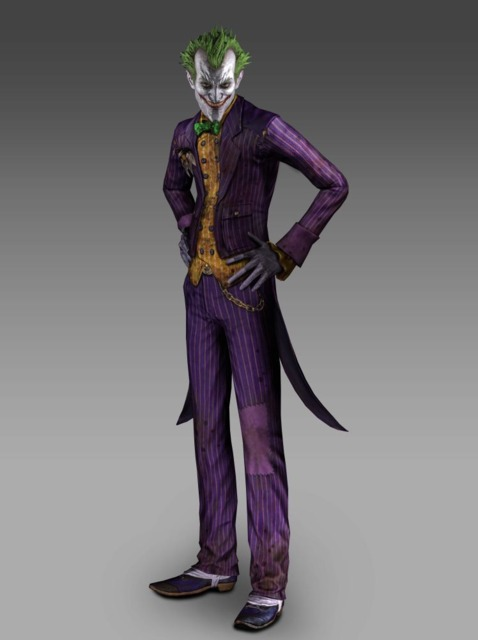 The Joker will make your visit in Arkham a very unpleasant one.