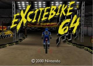 Catch Big Air in Excitebike 64!