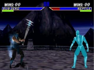Sub-Zero with his Freeze Wand.