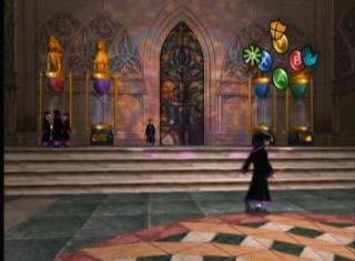 Inside Hogwarts.