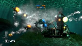 Some underwater action.