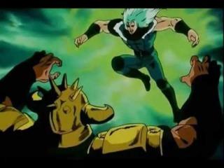 Rei Fights Raoh