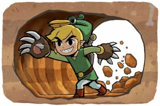 Link digging with the Mole Mitts