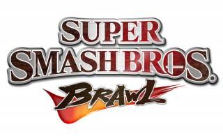 Super Smash Bros. Brawl logo.