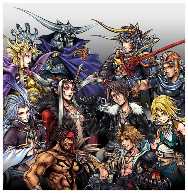 Dissidia features heroes and villains from throughout the Final Fantasy series.