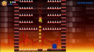 JUMP! is a faux-retro platforming game.