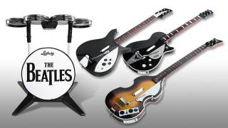 The Beatles: Rock Band peripherals.