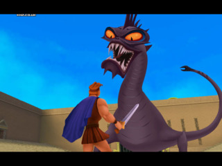 Hercules can't defeat the Hydra alone...