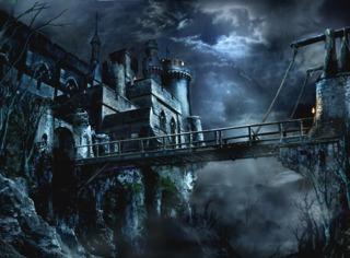 The drawbridge of Salazar's castle