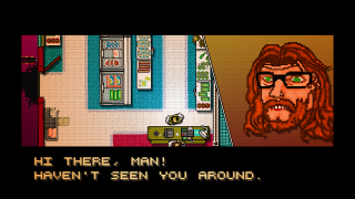 Hotline Miami has a clear sense of its own identity.