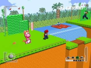 Smash Bros. Melee's homage to Mario 2.
