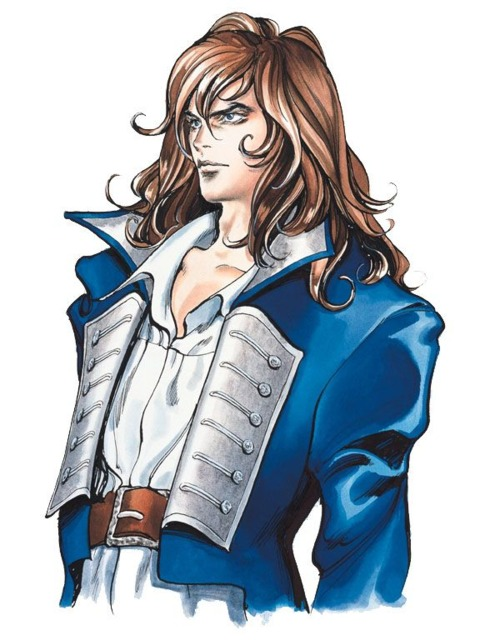 Richter Belmont, protagonist of Castlevania Rondo of blood