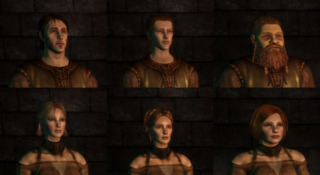 The Warden's appearance is created by the player.
