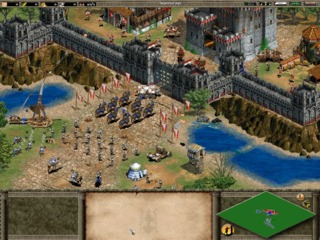 Players can create great walled empires.