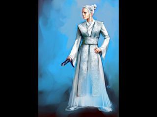 Atris: One of the few Echani Jedi Masters.