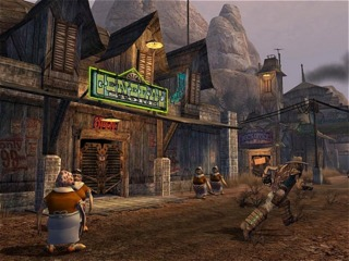 Moolah (the Oddworld currency) is an important part of Stranger's Wrath to begin with...